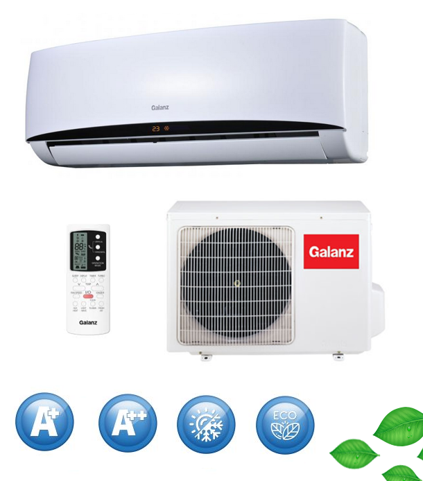 air conditioner galanz inverter arcus 6 8 kw air. Black Bedroom Furniture Sets. Home Design Ideas